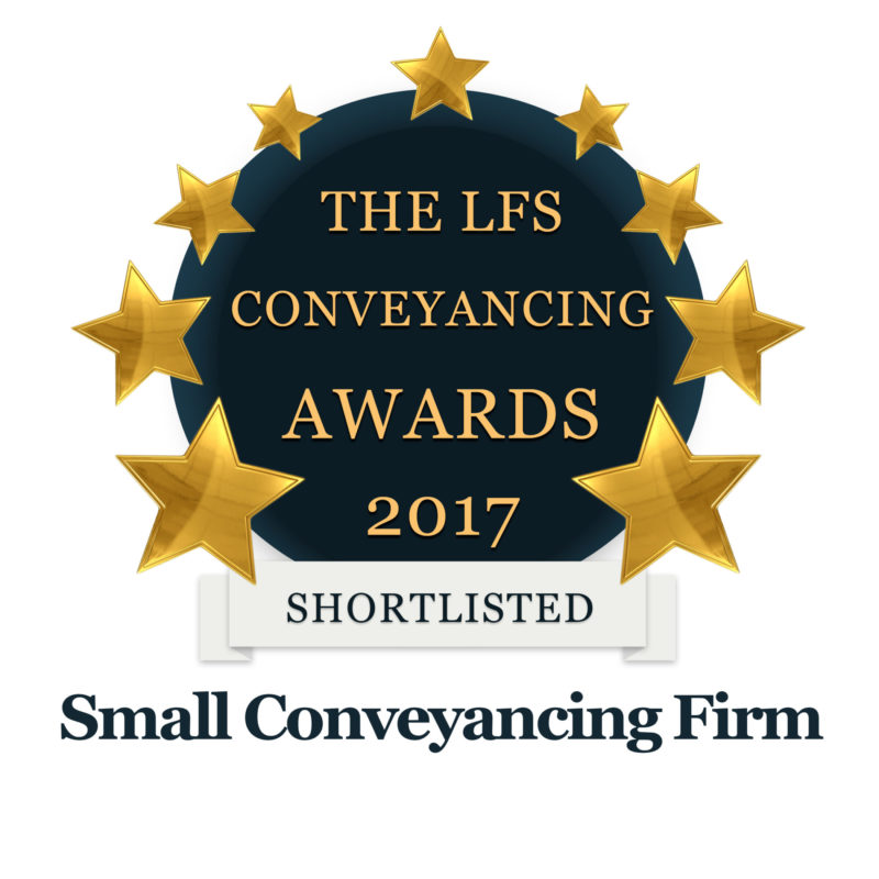 Small Conveyancing Firm Of The Year - SHORTLISTED! | Fletcher Longstaff