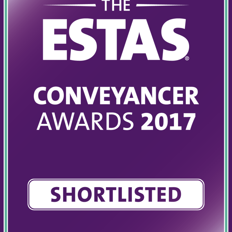 ESTAS Conveyancer Awards 2017 - Fletcher Lonstaff Shortlisted